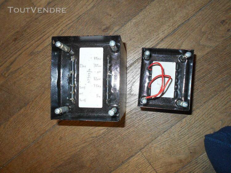 Transformateur et self magnetic pour ampli à tubes