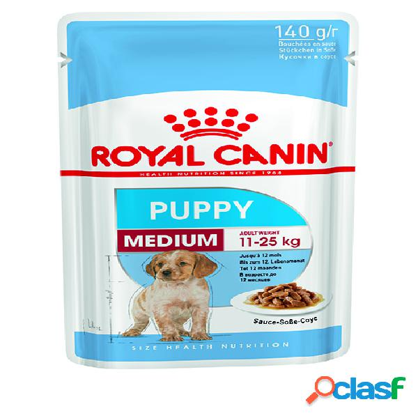Royal canin medium puppy sachets pour chiot 2 x (8 + 2)