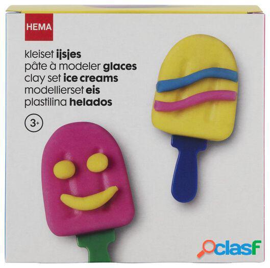 Hema ensemble pâte à modeler glaces