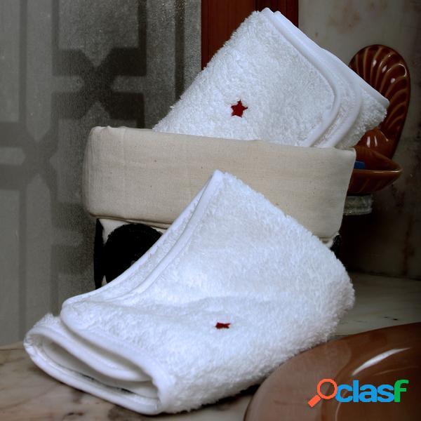 Serviettes en coton - haut: 13 cm - diam: 16 cm
