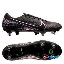 Nike mercurial vapor 13 academy sg-pro anti-clog kinetic black - noir