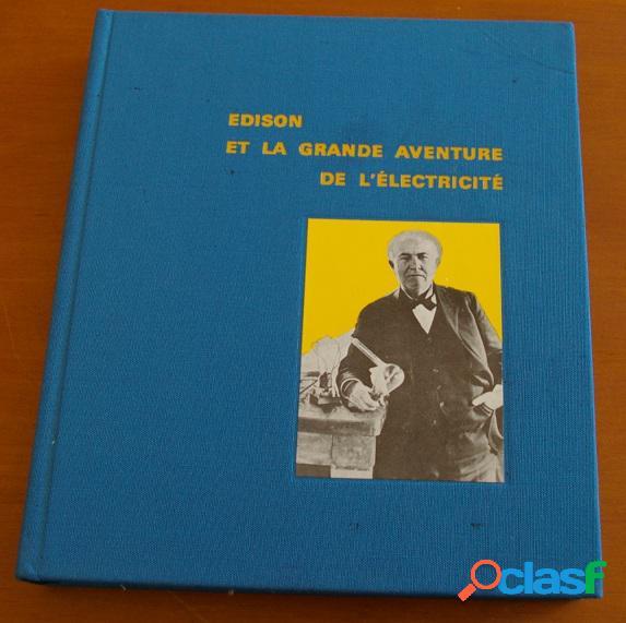 Edison et la grande aventure de l'électricité, margaret cousins