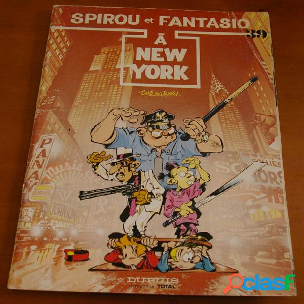 Spirou et fantasio n°39 - a new york, tome & janry