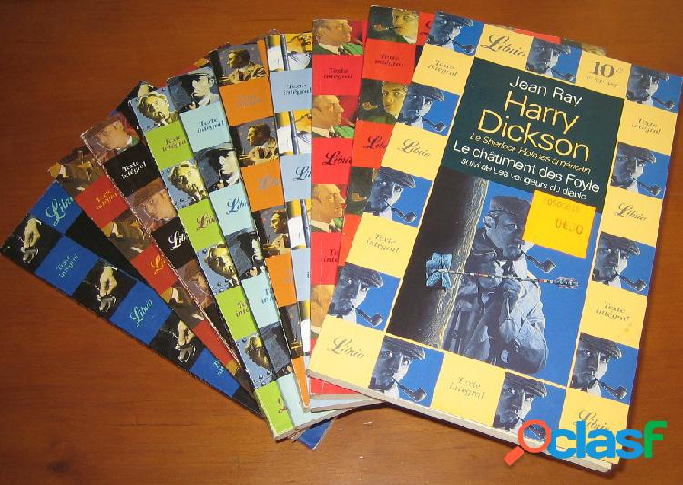 Lot de 10 Harry Dickson, Jean Ray