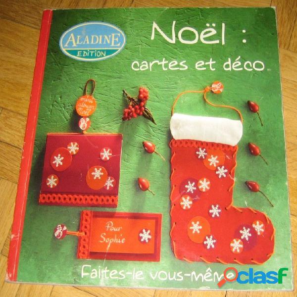 Noël: cartes et déco
