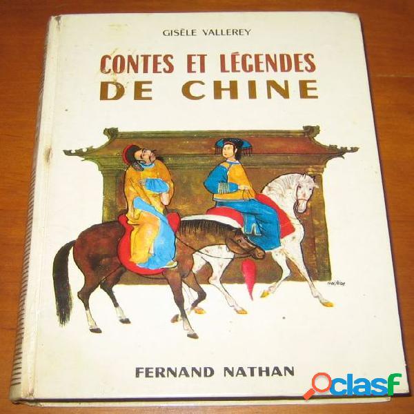 Contes et légendes de chine, gisèle villerey