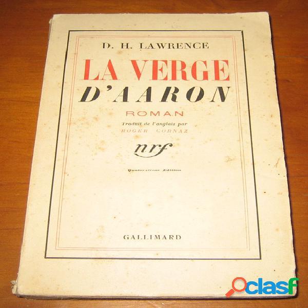 La verge d'aaron, d.h. lawrence