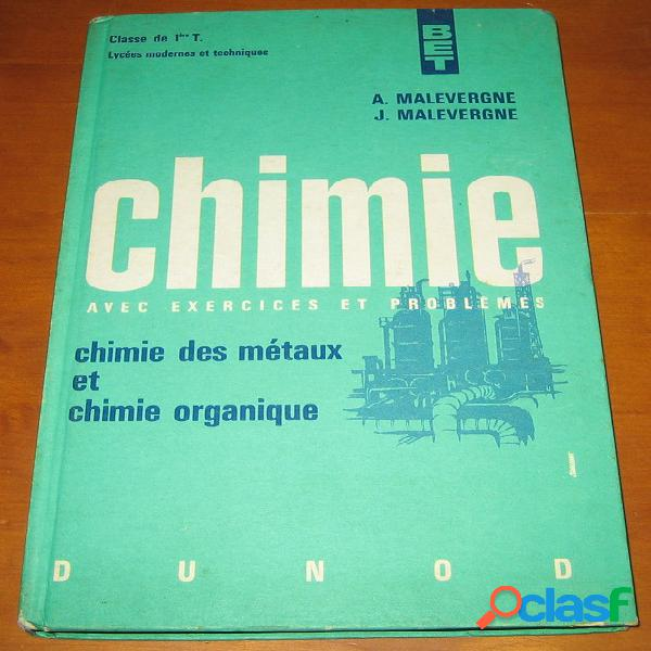 Chimie, a. et j. malevergne