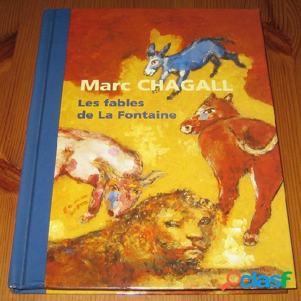 Les fables de la fontaine, marc chagall