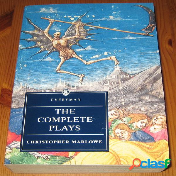 The complete plays, christopher marlowe