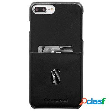 Coque en cuir dbramante1928 tune cc pour iphone 6 plus, iphone 6s plus, iphone 7 plus, iphone 8 plus - noire