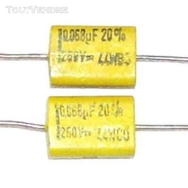 4 pc Nichicon Condensateur composant logiciel enfichable 680uf 250 V 25x50mm 105 ° LGU 2 E 681 melaram #wp