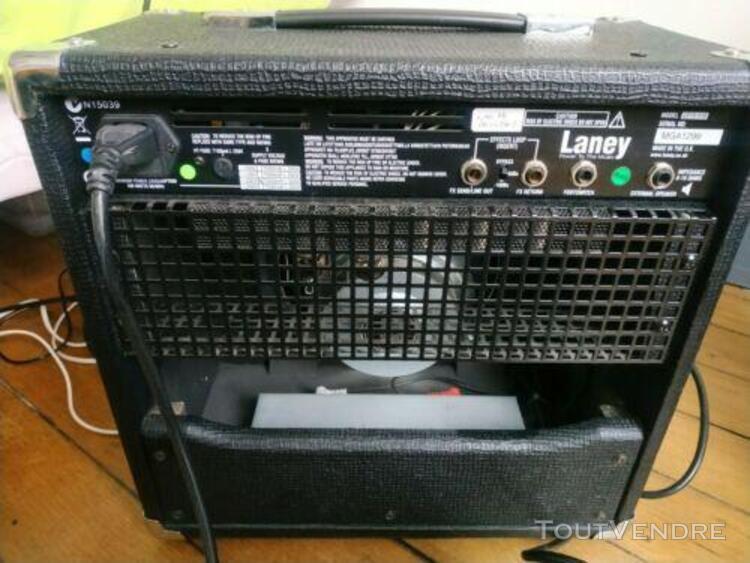 amplificateur guitare électrique laney lc-15