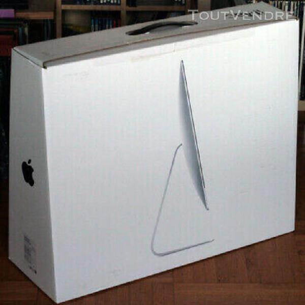 "Apple • macintosh • imac 21,5 "" • carton emballage"