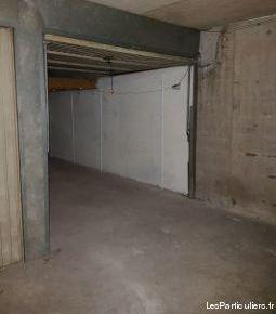 Box fermé ds résidence sécurisée