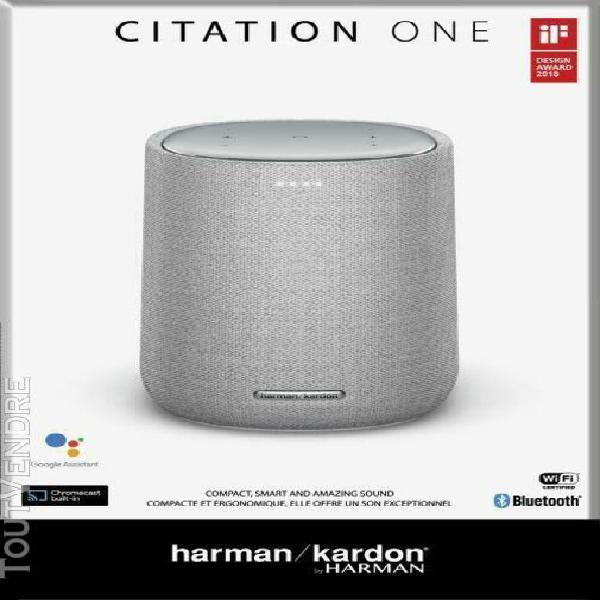 Enceinte wifi harman kardon citation one gris neuve