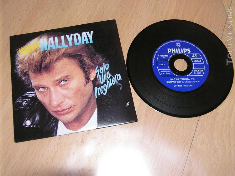 Johnny hallyday - solo una preghiera (ave maria) - cd single