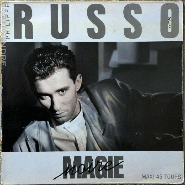 Maxi 45t philippe russo - magie noire