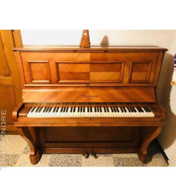 piano ancien droit gaveau paris