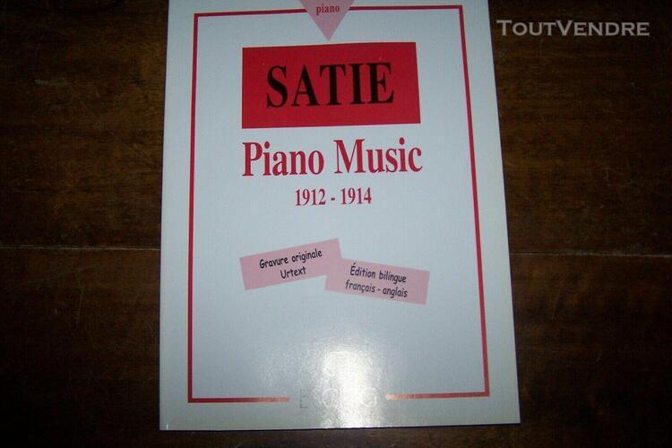 piano music 1912-1914: erik satie