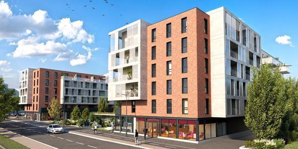 Programme immobilier neuf strasbourg 39 m2 bas rhin