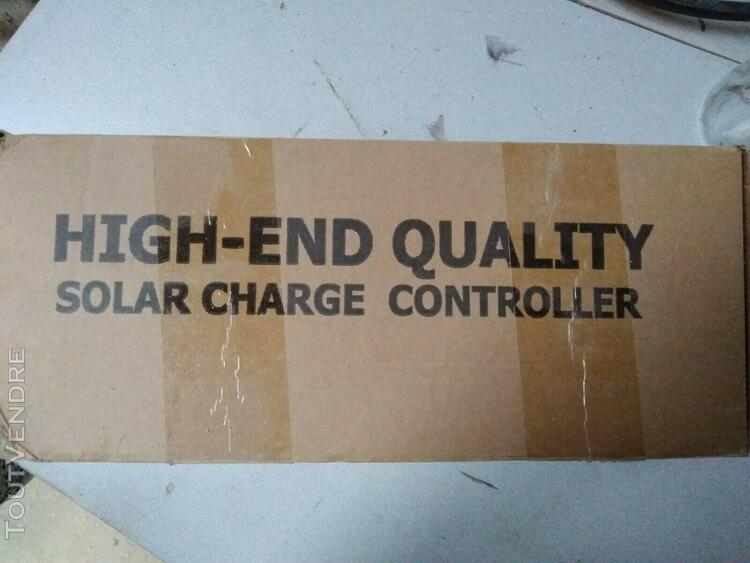 Régulateur de charge solaire 60a mppt panneau solaire