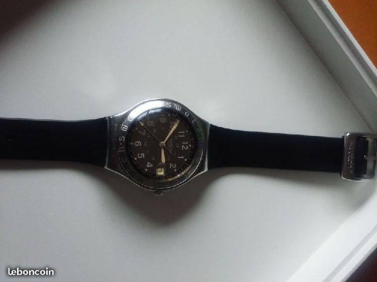 Swatch irony chrono ag 1993 mens watch black