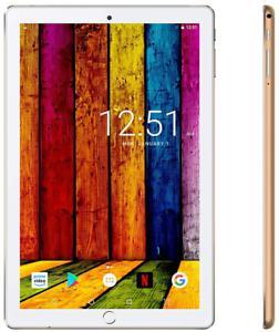 Tablette tactile 10.1 pouces 4g android 9.0 quad core avec