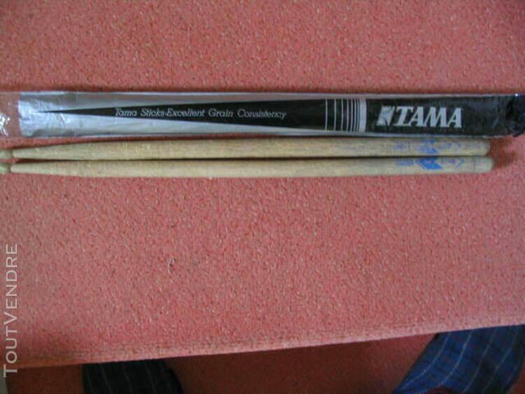tama - paire de baguettes o214b et 0215 p - chene