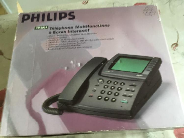 Téléphone fixe philips td 9901a neuf occasion, poissy