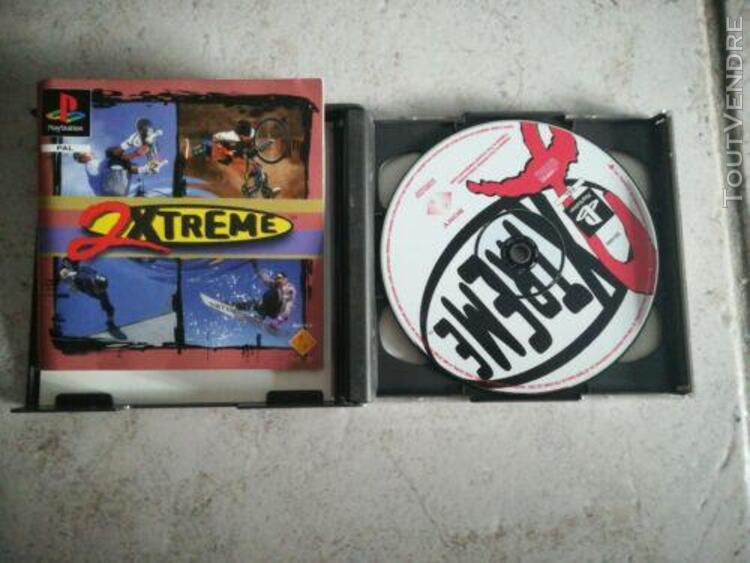 2xtreme (sony playstation 1, 1996, keep case)