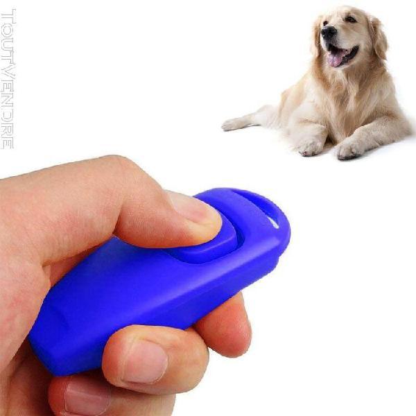 Accessoire de dressage d'animaux canisses clicker à ultr