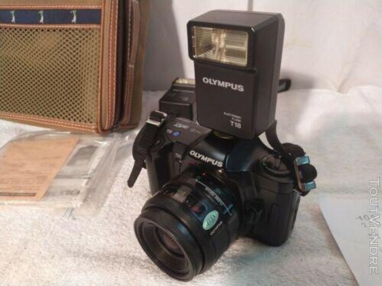 Appareil photo olympus om101 (film argentique 35mm) objectif