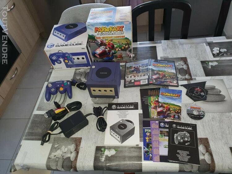 Console nintendo gamecube pack editon limitée mario kart