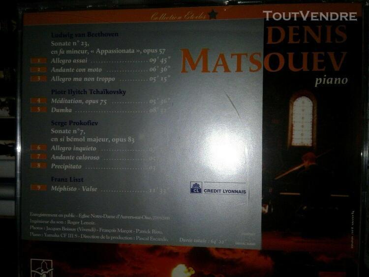 Denis matsuev - beethoven, tchaikovsky, liszt, prokofiev - c