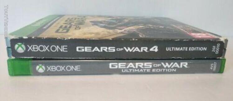 Gears of wars ultimate & 4 ultimate steelbook xbox one pal +