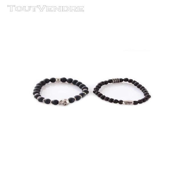 Guess bracelets bracelet homme noir jums80030