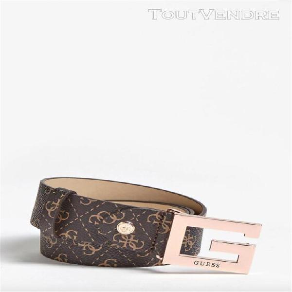 Guess ceintures ceintures femme marron bw7273vin40