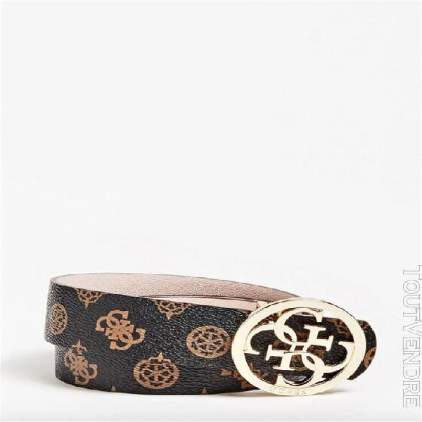 Guess ceintures ceintures femme marron bw7331vin35