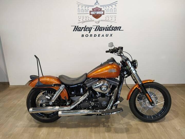 Harley davidson dyna street essence begles 33   12300 euros