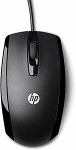 Hp x500 wired mouse - souris filaire - noir