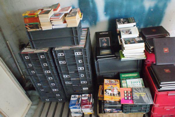 lot de 2500 livres poche d'occasions