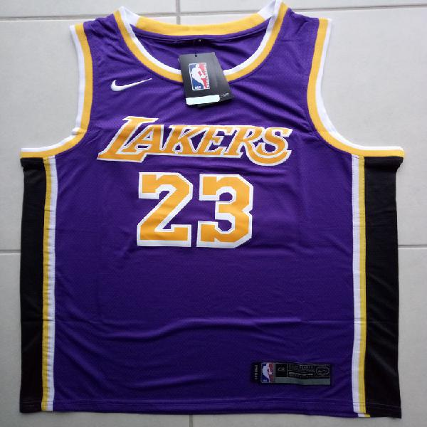 Maillot nba lebron james lakers neuf(taille m, l ou xl)