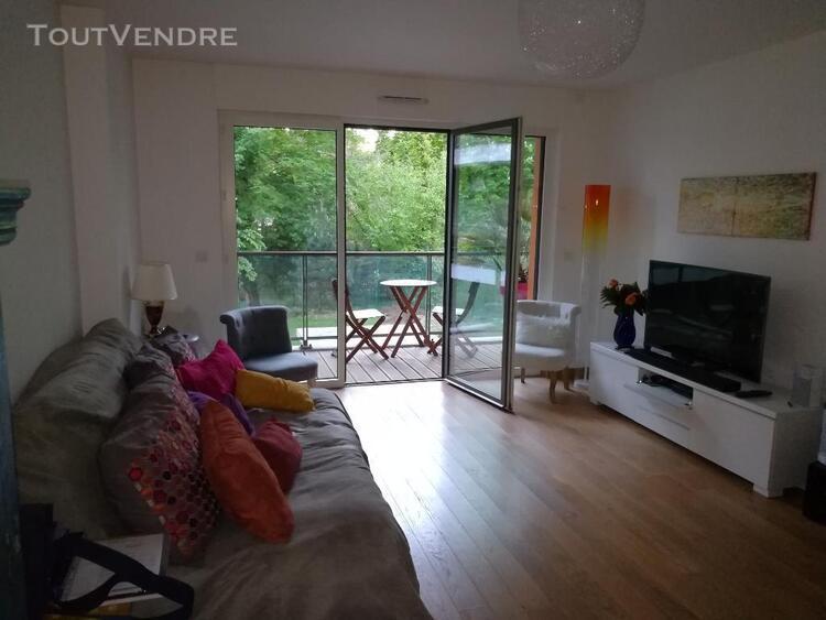 meudon centre 4 pieces neuf 87.40 m2 + terrasse et balcon