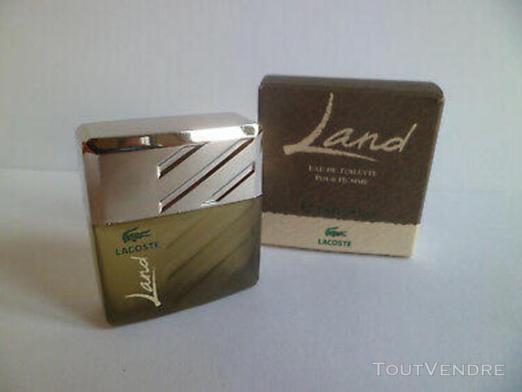 miniature de parfum land de lacoste pour homme edt 7ml