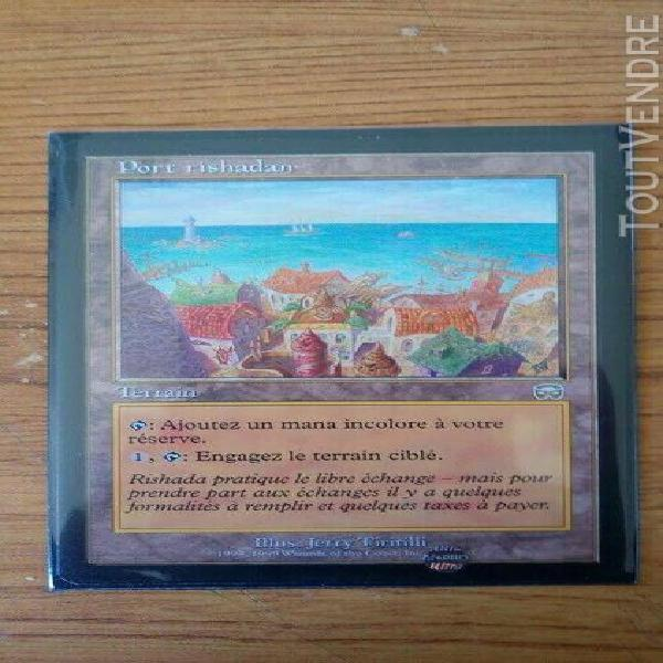 mtg magic the gathering port rishadan fr masque mercadia nea