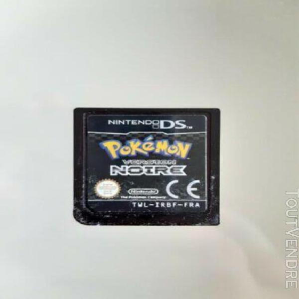 Pokemon version noire nintendo ds loose sans boite fra