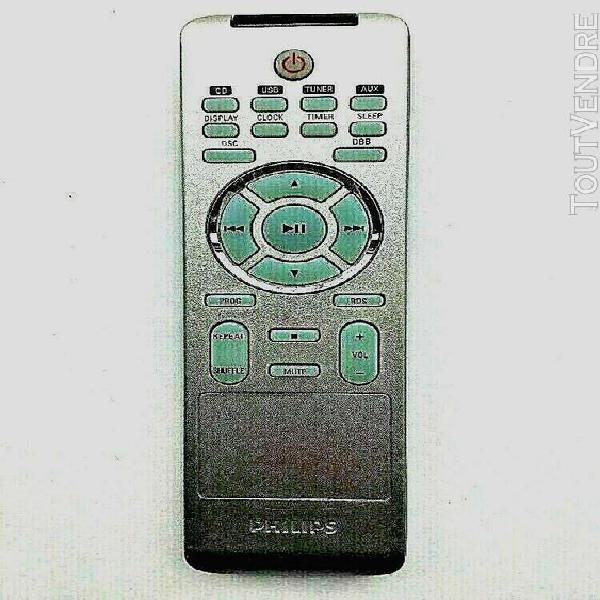 Télécommande philips prc500-14 télécommande d'origine