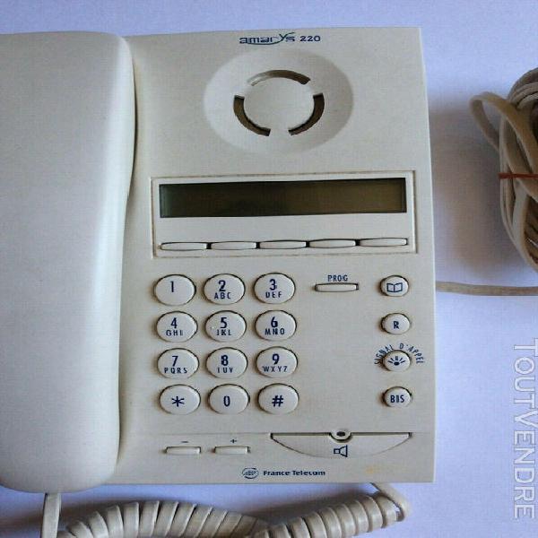 Téléphone à touches france télécom amarys 220
