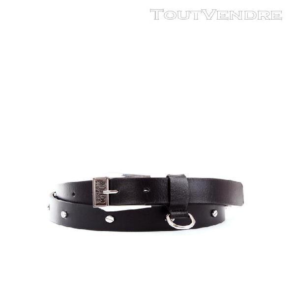 Versace jeans couture ceintures ceintures homme noir